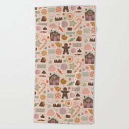 In the Land of Sweets Beach Towel
