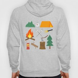 Let's Explore The Great Outdoors - Light Blue Hoody
