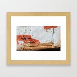 Rusty Door Framed Art Print