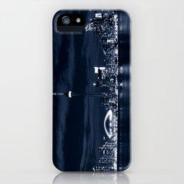 Toronto Skyline, Blue iPhone Case