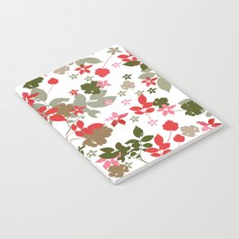 red leaves Notebook