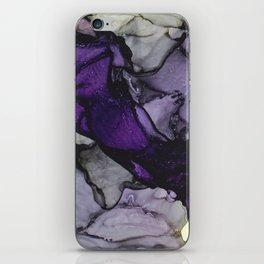 Purple Stream iPhone Skin