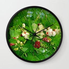 Wilderberries Wall Clock