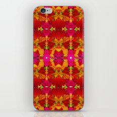 Like flowers and butterflies iPhone & iPod Skin