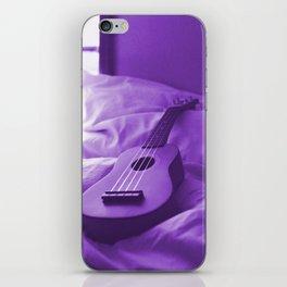 Uke Purple iPhone Skin