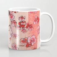 snow white Mugs featuring Snow White by Sarah Larguier