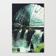 SubCulture (imaginary cities) Canvas Print