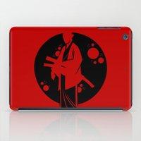 samurai iPad Cases featuring Samurai by Artistic Dyslexia
