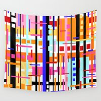 broadway Wall Tapestries featuring Party at Stripe's House by k_c_s