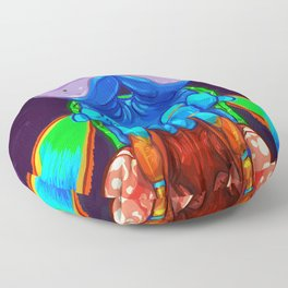 Intense Mantis Shrimp Floor Pillow