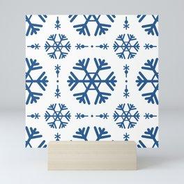 Christmas pattern 13 Mini Art Print