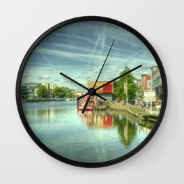 Lincoln Waterfront Wall Clock