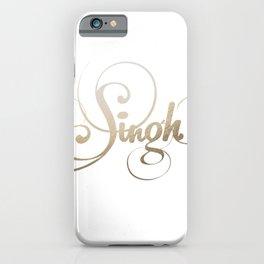 Singh iPhone Case
