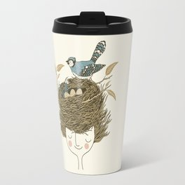 Bird Hair Day Travel Mug