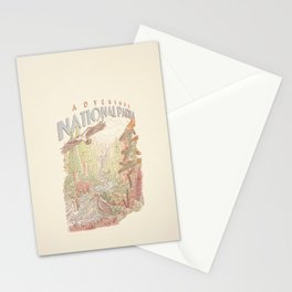 Adventure National Parks Stationery Cards