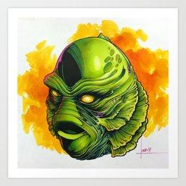 Creature Pop Art Print
