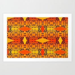 Colorandblack series 1331 Art Print