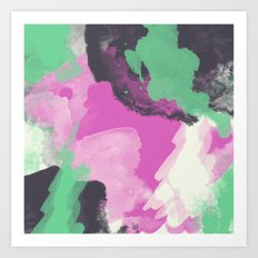 abstract123 Art Print