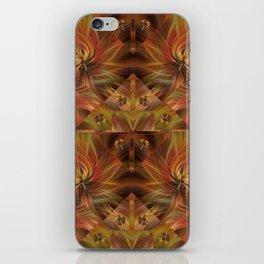 Autumn Twirled iPhone Skin