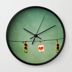 Ready For Love  Wall Clock