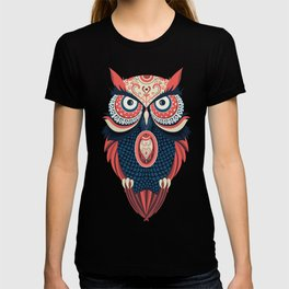 Colorful Owl T-shirt