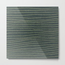 jungle stripe Metal Print