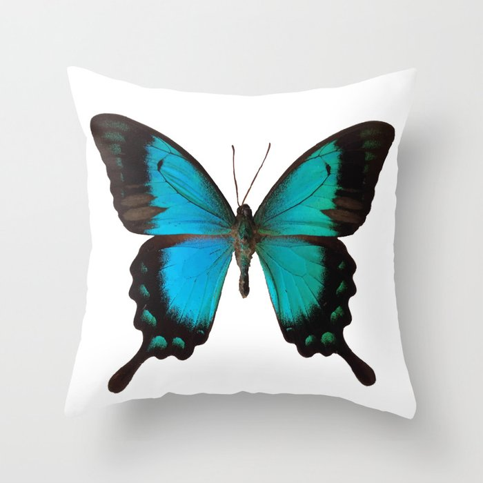 Papilio Throw Pillow