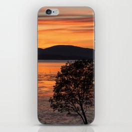 Sunset Over the Flats iPhone Skin