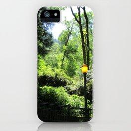 Lamppost iPhone Case
