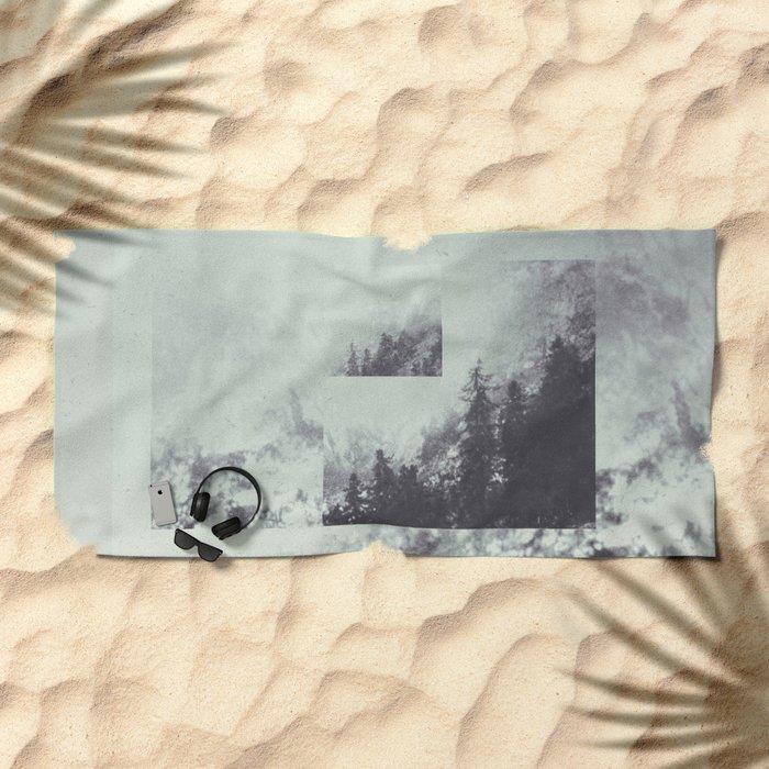 Fractions A59 Beach Towel