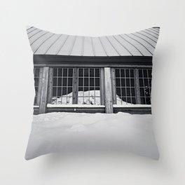 reflected rainier Throw Pillow