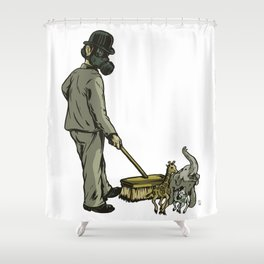 Disposable Nature Shower Curtain
