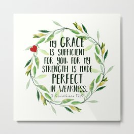 Perfect Grace Metal Print