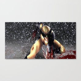 The Wolverine SNOW Canvas Print