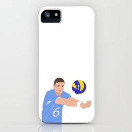 Volleyball cartoon iPhone Case