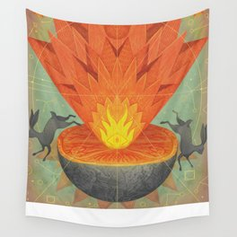 Catastrophe III Wall Tapestry