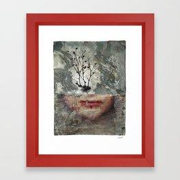 A Chemical Winter Framed Art Print