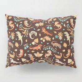 Autumn Geckos Pillow Sham