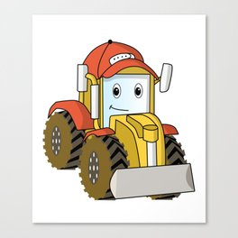 truck toy kids wheeler gift idea Canvas Print