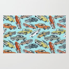 Muscle Cars Rug