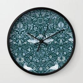 "William Morris ""Birds"" 2. Wall Clock"