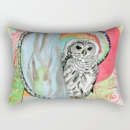Owl Dreamcatcher Dream Rectangular Pillow