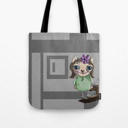 ladycat Tote Bag