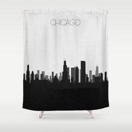 City Skylines: Chicago Shower Curtain
