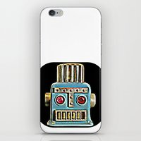 robot iPhone & iPod Skins featuring Robot by Silvio Ledbetter