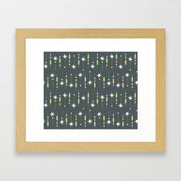 twinkle twinkle little snow Framed Art Print