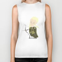 legolas Biker Tanks featuring Legolas by Rod Perich
