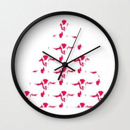 Happy Goat Wall Clock