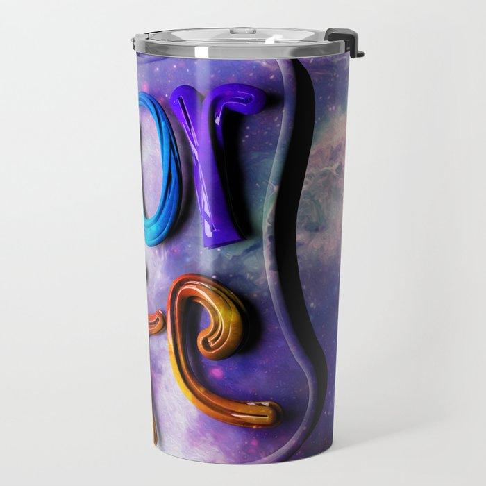 Color Life 3D Travel Mug