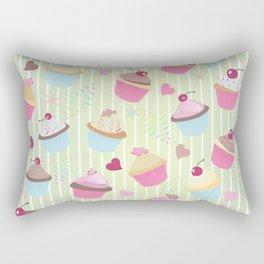 Cupcakes with love Rectangular Pillow